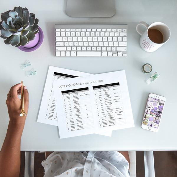 2019 Holiday & Social Media Calendar | The Content Planner